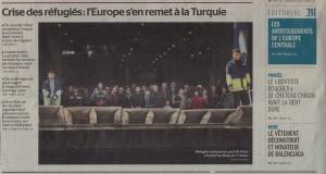 Le Monde, 8 March 2016